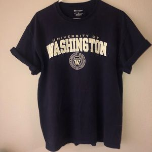 Champion University of Washington T-Shirt